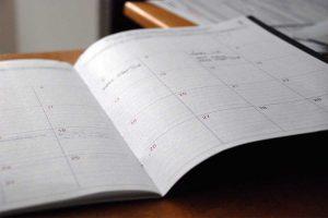 Plantilla de calendario para planificar los contenidos de tu blog