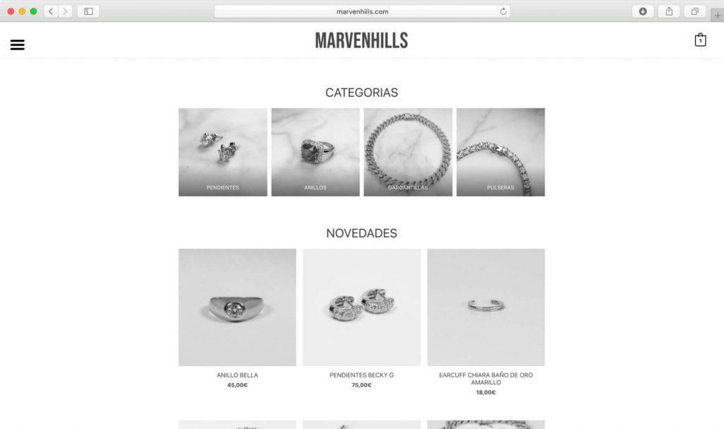 Ecommerce - Marvenhills